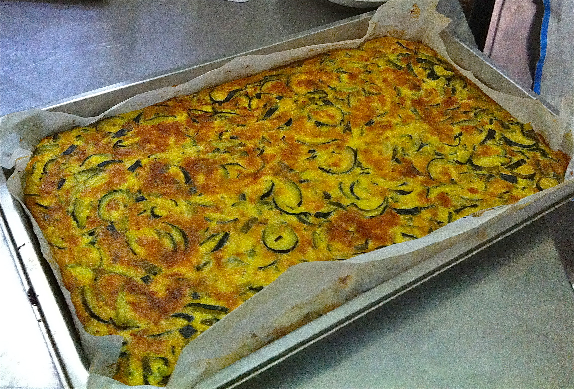 zucchini frittata 5 6 big zucchinis sliced into thin circles 500g ...